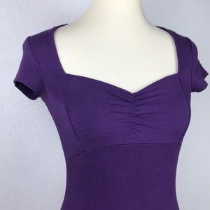 ASOS | Purple Midi Bodycon Dress